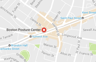 Location of Boston Posture Center